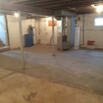 basement of house for rent in plainwell - plainwell schools, martin otsego