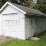 rental house, plainwell, michigan - detached one car garage