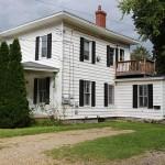 plainwell upper unit duplex for rent, private driveway