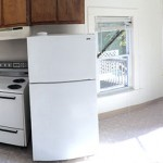 apartment for rent plainwell michigan - upper unit duplex on main street - kitchen
