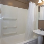 bathroom in 1-bath 3-bedroom house for rent